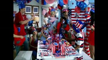 Party City TV Spot For Fourth Of July Sales Event - Thumbnail 2