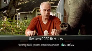 Spiriva TV Spot For COPD With Elephant - Thumbnail 4