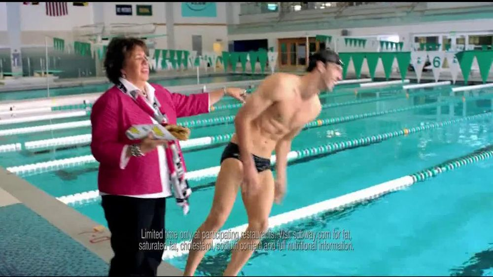 Subway TV Commercial For Featuring Michael Phelps