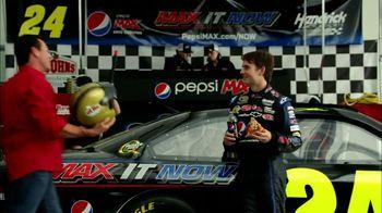 Papa John's TV Spot For Pepsi Max Featuring Jeff Gordon - Thumbnail 4