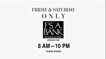 JoS. A. Bank TV Spot For Buy 1 Get 3 Suits Or Sports Coats - 2 commercial airings