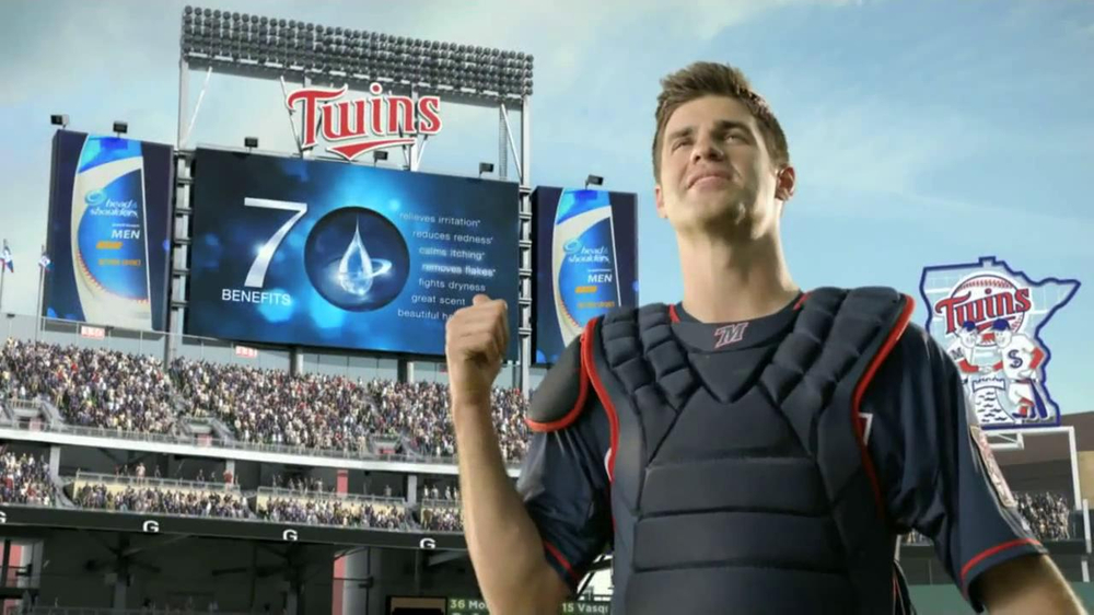 Head & Shoulders TV Commercial For Head & Shoulders for Men Featuring Joe Mauer