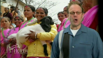 Heifer International TV Spot Featuring Alton Brown