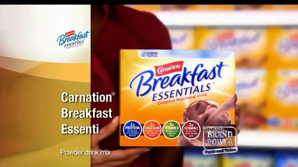Carnation Breakfast Essentials TV Commercial For Carnation Breakfast Essentials