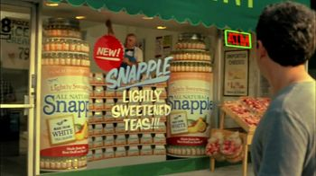 Snapple TV Spot For Lightly Sweetened White Tea - Thumbnail 7