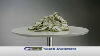 1-800 Contacts TV Spot, \'Brands, Door, Money\'