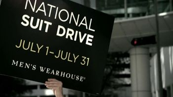 Men's Wearhouse National Suit Drive TV Spot featuring George Zimmer