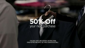 Men's Wearhouse National Suit Drive TV Spot featuring George Zimmer - Thumbnail 4