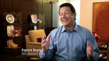 Domino's Large Three-Topping Pizza TV Spot, 'We're Not Crazy' - Thumbnail 1