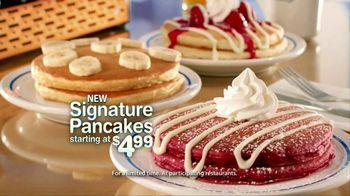 IHOP TV Spot For Signature Pancakes - Thumbnail 6