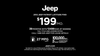 Jeep TV Spot For 2012 Compass and Patriot - Thumbnail 8