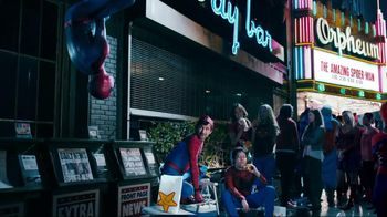 Carl's Jr TV Spot For Grilled Cheese Bacon Burger With Spider Men