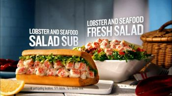 Quiznos TV Spot For Lobster and Seafood Salad Sub and Fresh Salad - Thumbnail 7