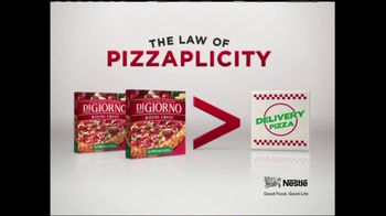DiGiorno TV Spot, 'The Law of Pizzaplicity' - Thumbnail 5