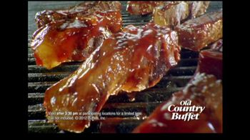 Old Country Buffet TV Spot For Baby Back Ribs