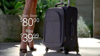 Ross TV Spot For Luggage - Thumbnail 7