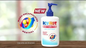 Icy Hot TV Spot For Arthritis Pain Relief Lotion - Thumbnail 3
