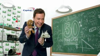Capital One Cash Rewards TV Spot, 'Baby Bear' Featuring Jimmy Fallon - 9 commercial airings