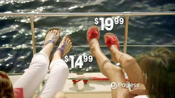 Payless Shoe Source TV Spot For Sandals and Flip Flops to Beat the Heat - Thumbnail 8