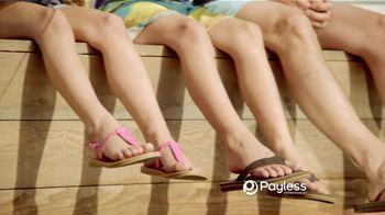 Payless Shoe Source TV Spot For Sandals and Flip Flops to Beat the Heat