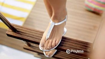 Payless Shoe Source TV Spot For Sandals and Flip Flops to Beat the Heat - Thumbnail 5