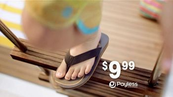 Payless Shoe Source TV Spot For Sandals and Flip Flops to Beat the Heat - Thumbnail 6