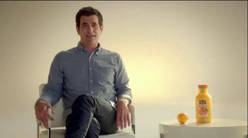 Minute Maid Pure Squeezed TV Spot 'Jealous Orange' Featuring Ty Burrell - 130 commercial airings