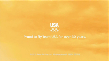 United Airlines TV Spot For Proud To Fly Team USA - Thumbnail 9