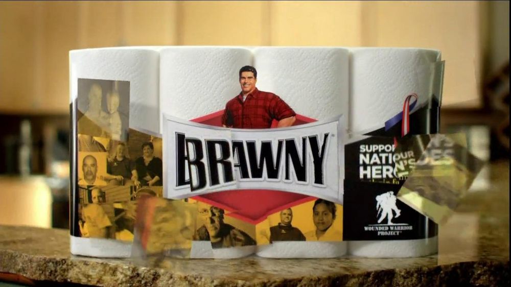 Brawny TV Commercial, 'Wounded Warrior Project: The Strength Within: All Shapes and Sizes'