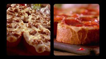 Pizza Hut Garlic Bread Pizza TV Spot, 'Don't Settle' - 146 commercial airings