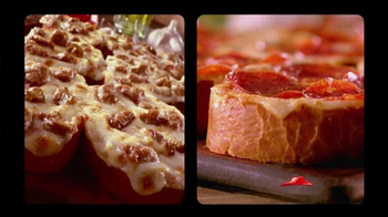 Pizza Hut Garlic Bread Pizza TV Spot, 'Don't Settle' - 146 commercial airings