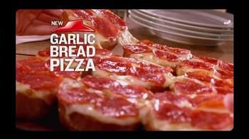 Pizza Hut Garlic Bread Pizza TV Spot, 'Don't Settle' - Thumbnail 5