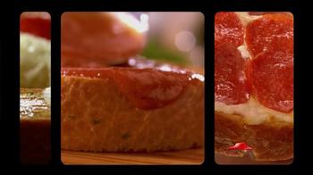 Pizza Hut Garlic Bread Pizza TV Spot, 'Don't Settle' - Thumbnail 8
