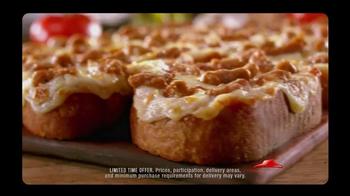 Pizza Hut Garlic Bread Pizza TV Spot, 'Don't Settle' - Thumbnail 9