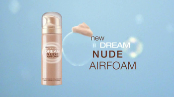 Maybelline New York Dream Nude Airfoam Foundation TV Spot, 'Lighten Up' - Thumbnail 2