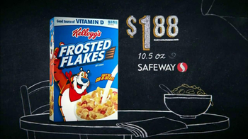 Safeway Deals of the Week TV Spot, 'Watermelon, Charmin and Frosted Flakes' - Thumbnail 8