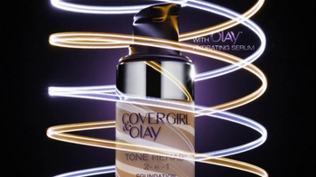 CoverGirl Tone Rehab 2-In-1 Foundation TV Spot, 'One Pump' - Thumbnail 4