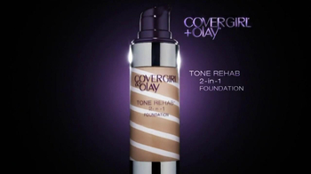 CoverGirl Tone Rehab 2-In-1 Foundation TV Spot, 'One Pump' - Thumbnail 5