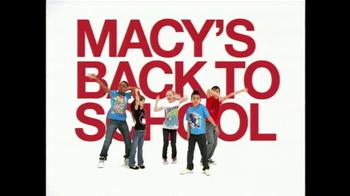 Macy's Back To School Sale TV Spot, 'Wow Pass' - Thumbnail 2