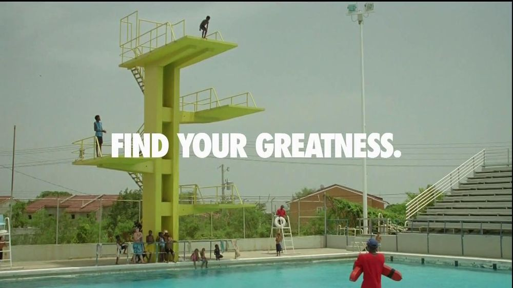 Nike Tv Commercial Find Your Greatness High Dive Ispot Tv