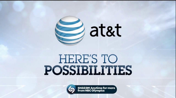 AT&T TV Spot, 'NBC: 2012 Olympic Beach Volleyball' - Thumbnail 3