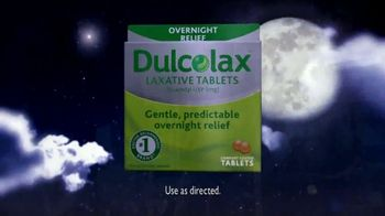 Dulcolax TV Spot For Laxative Tablets Overnight Relief