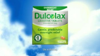 Dulcolax TV Spot For Laxative Tablets Overnight Relief - Thumbnail 6
