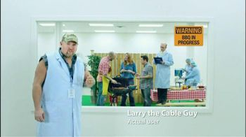 Prilosec OTC TV Spot,  'BBQ Heartburn' Ft Larry The Cable Guy