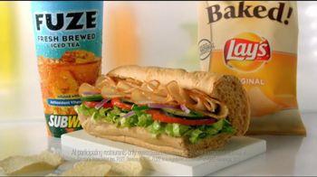 Subway TV Spot, 'Fuze Fresh Brewed Iced Tea' - Thumbnail 6