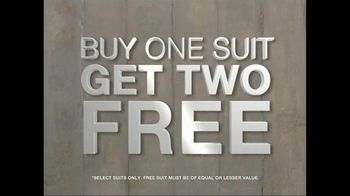 K&G Fashion Superstore TV Spot For Three Suits for $199.99 - Thumbnail 4
