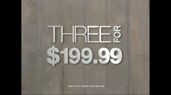 K&G Fashion Superstore TV Spot For Three Suits for $199.99 - Thumbnail 6