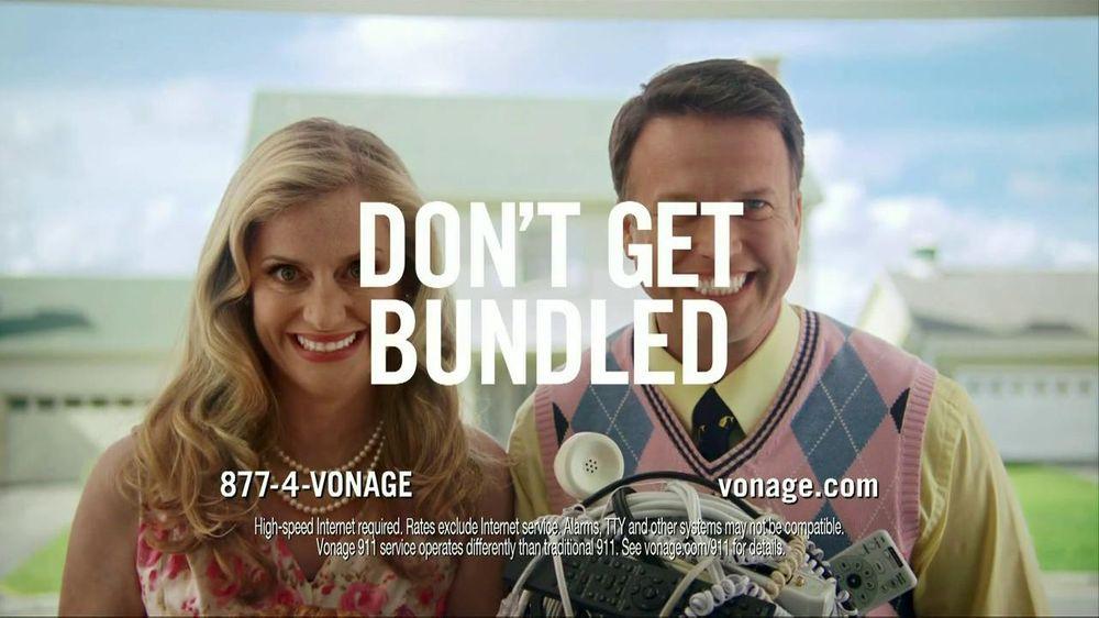 Vonage TV Commercial, 'We All Bundle'