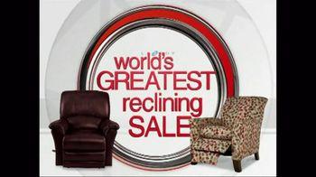 La-Z-Boy TV Spot For World\'s Greatest Reclining Sale