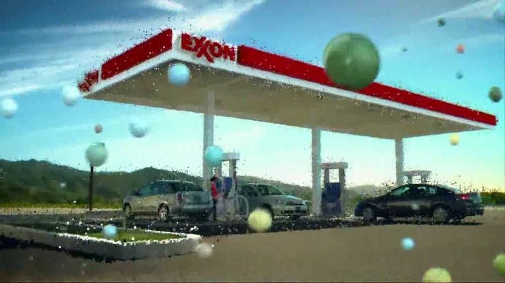 Exxon Mobil TV Commercial For Making Gas Work Smarter - Video